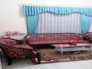 Ruang tamu Arga homestay di batu malang